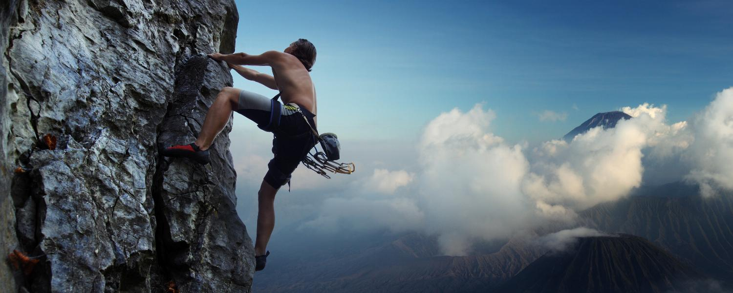 banner of Rock Climbing Provides a Great Full Body Workout (zubican)