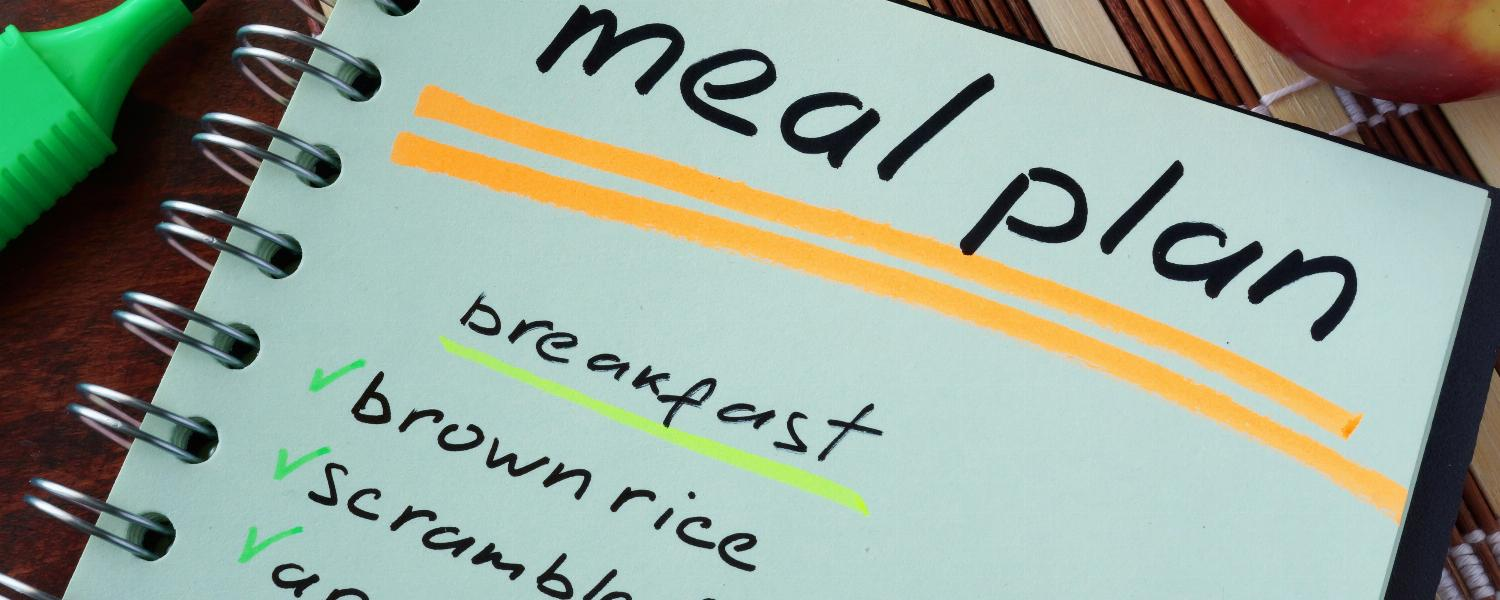 banner of Meal Planning Makes Eating Healthy Easy